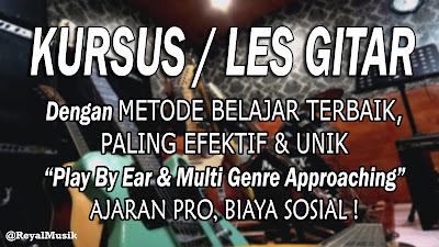 Kursus Gitar / Les Gitar Terbaik Dan Murah Di Jakarta Timur