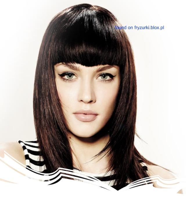 Wwwwlosyes Katalog Modnych Fryzur Proste Włosy I