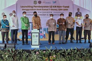 Wali Kota Medan Launching Pembayaran Uji KIR Non Tunai