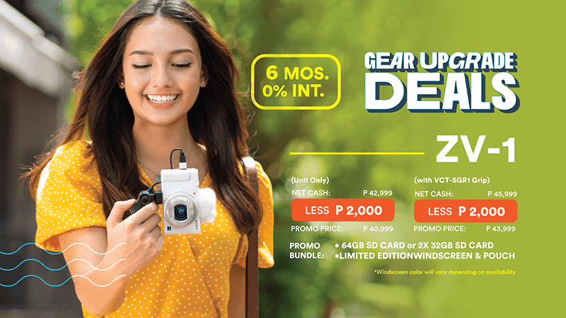 Sony Philippines announces Gear Upgrade Deals with up to PHP 50K discounts!