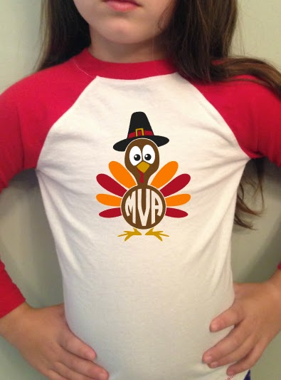 kids monograms, fall monogram, thanksgiving silhouette files, free cut files, silhouette studio, silhouette cameo beginners, heat transfer vinyl, kids raglan shirts