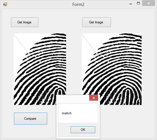 How to design finger print/ scanner based project in C#
