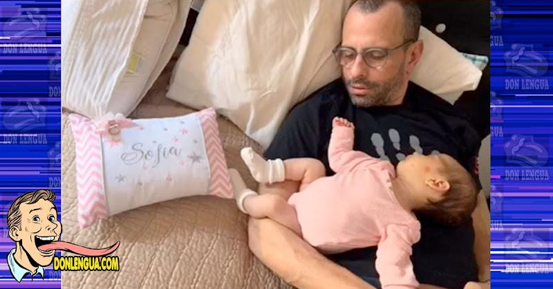 Capriles pasó su cumpleaños con la hija que tuvo con alguna reportera de Televén
