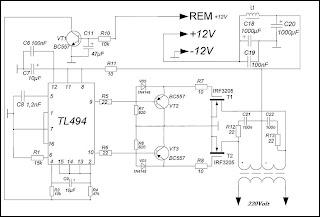 Der Spannungswandler 12 bis 220 Volt, 250 Watt