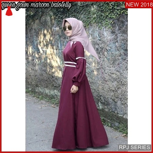 RPJ176D145 Model Dress Queen Cantik Gown Wanita