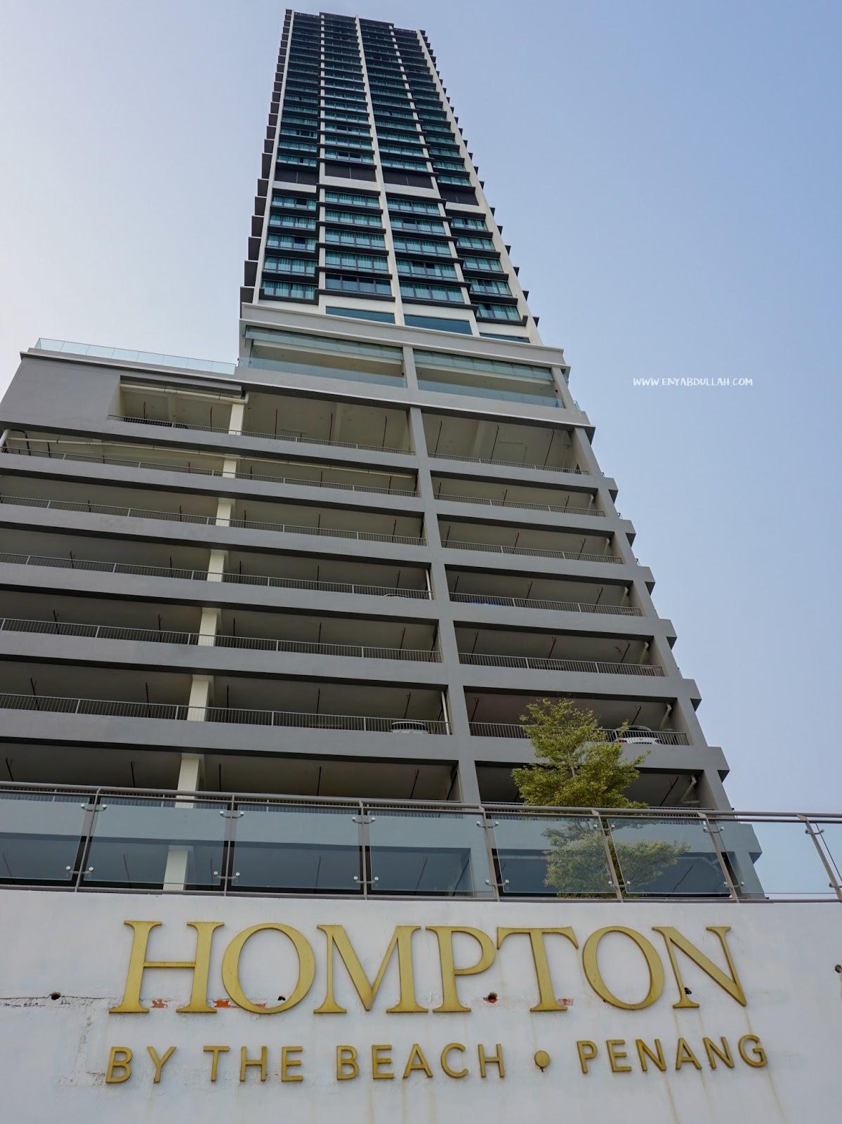 Hompton by the beach review, hompton hotel penang, review hotel hompton, hotel penang, hotel tanjung bungah, hotel murah penang