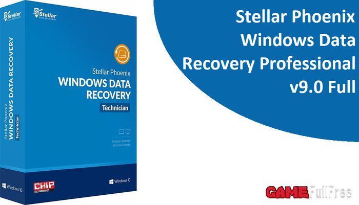 Stellar Phoenix Windows Data Recovery Professional v9.0.0.1 Full