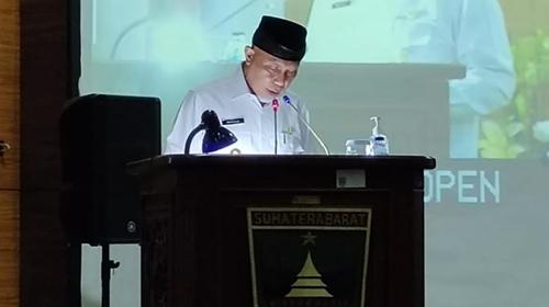 Gubernur Sumbar Sampaikan Rancangan Awal RPJMD 2021-2026