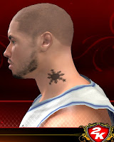 NBA 2K13 Tattoos Mod - 3 Stars and a Sun