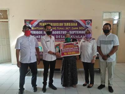 Desa Pakualam Distribusikan Tambahan BLT Dana Desa Untuk Warga