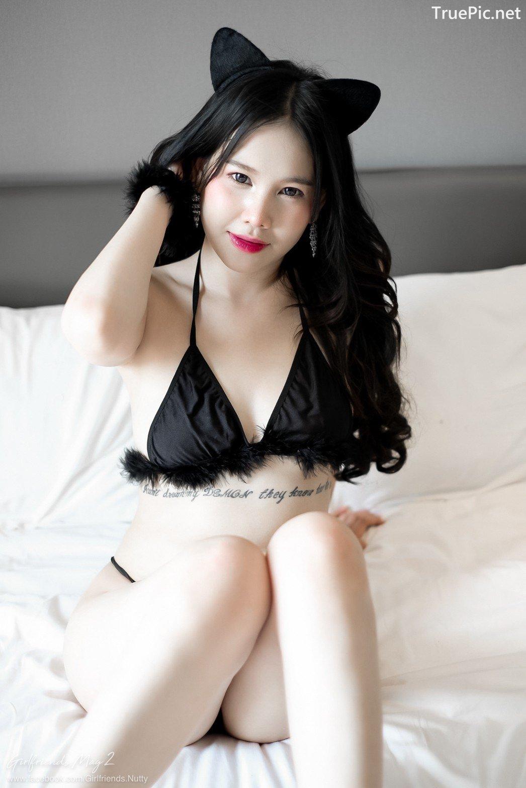 Image Thailand Model - Chanunshida Phuangsombut - Sexy Black Cat - TruePic.net - Picture-5