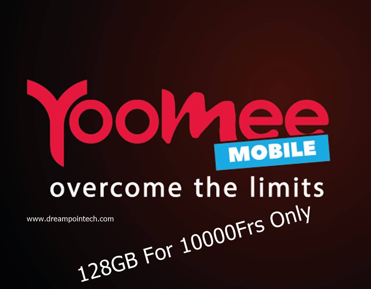 Yoomee Cameroon Crazy Deals: 128GB for 10000Frs Only
