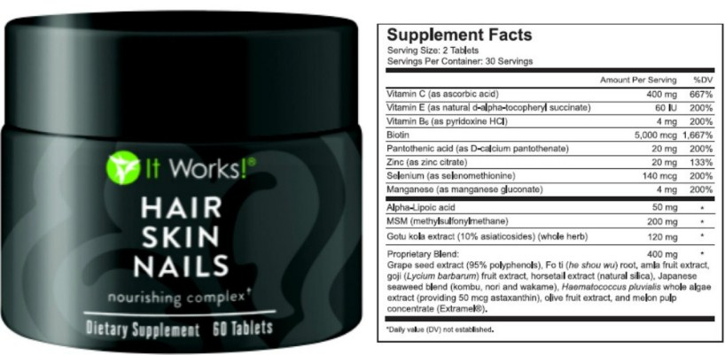 Hair Skin And Nails Supplement Results - Best Skin In The Word 2018