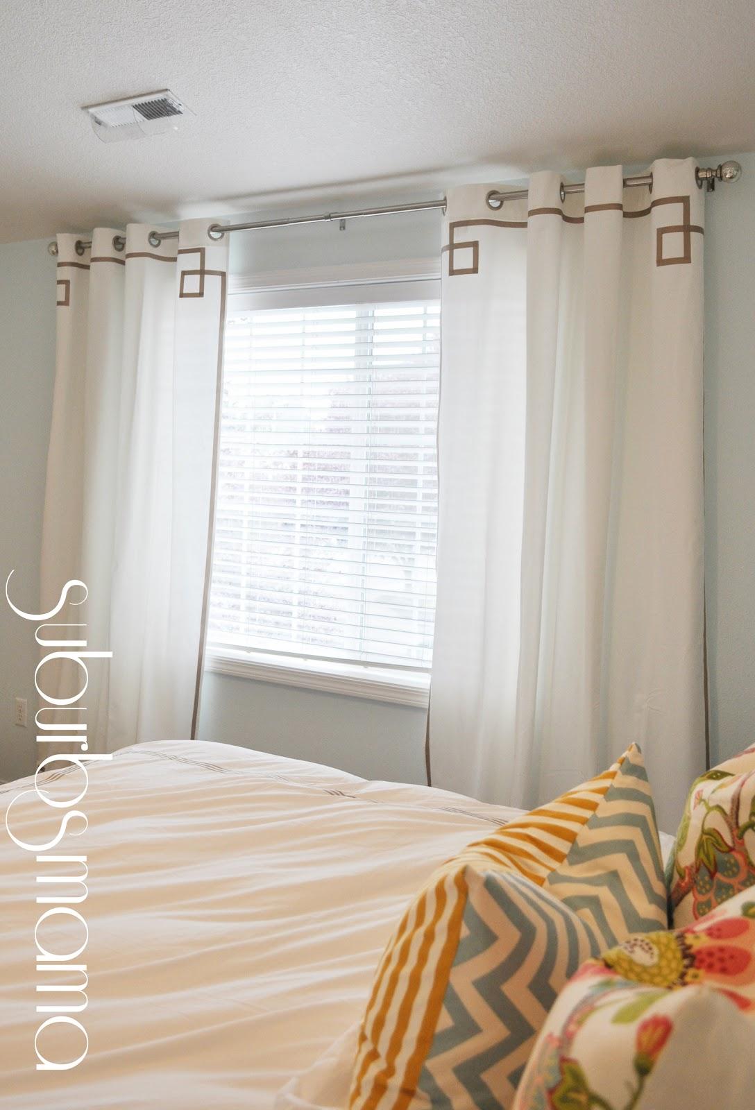 Suburbs Mama: Master Bedroom Curtains on Master Bedroom Curtains  id=70049