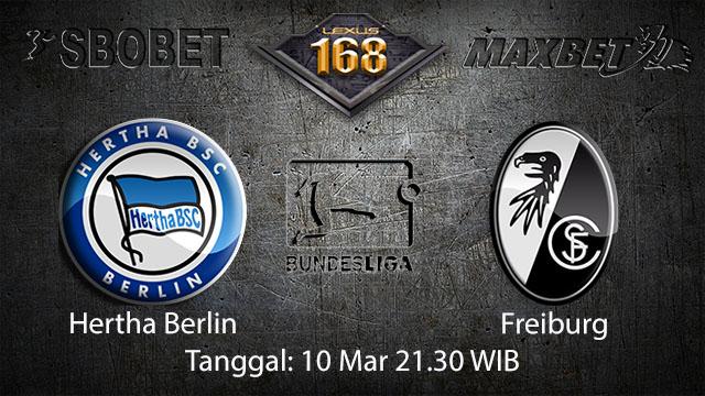 BOLA88 - PREDIKSI TARUHAN BOLA HERTHA BERLIN VS FREIBURG 10 MARET 2018 ( GERMAN BUNDESLIGA )