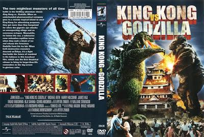 King Kong contra Godzilla (1962) Caratula dvd