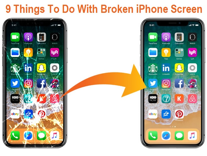 Things To Do With Broken iPhone Screen