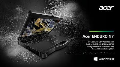 Acer Enduro N7 Rugged Notebook