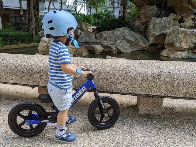 [育兒] 平衡車+頭盔小分享 - 最後揀左STRIDER