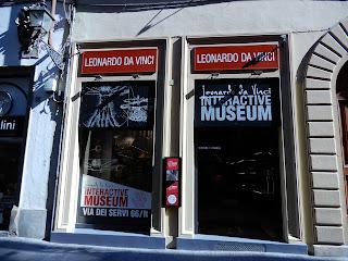 LEONARDO INTERACTIVE MUSEUM入口