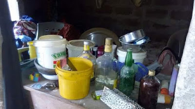 10 - Fake prophetess Bursted, See What Was Found In Her church in Akwa Ibom (See Photos)