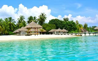 tropics beach property pool sea