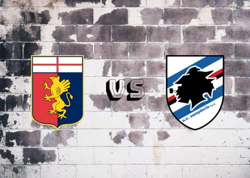 Genoa vs Sampdoria  Resumen