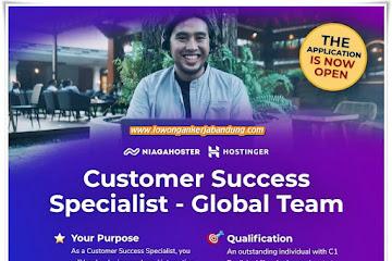 Lowongan Kerja Customer Succes Spesialist Niagahoster