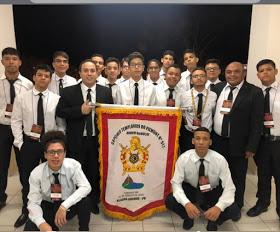 Maçons e Demolays de Alagoa Grande participam de Congresso Estadual da Ordem DeMolay em Cajazeirass