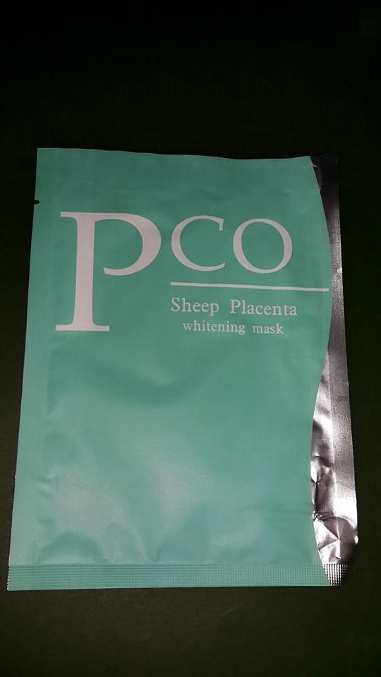 Pco Sheep Placenta Whitening Mask Koyun Plasenta Maskesi