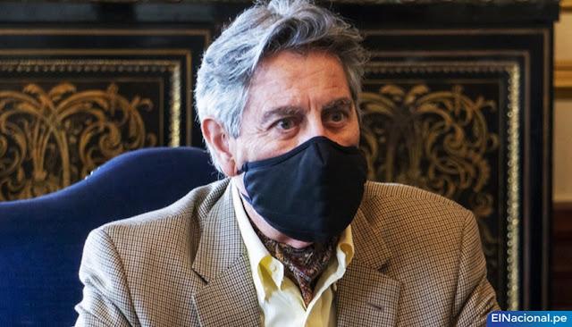 Francisco Sagasti renunció renunció a su precandidatura a vicepresidencia al Partido Morado