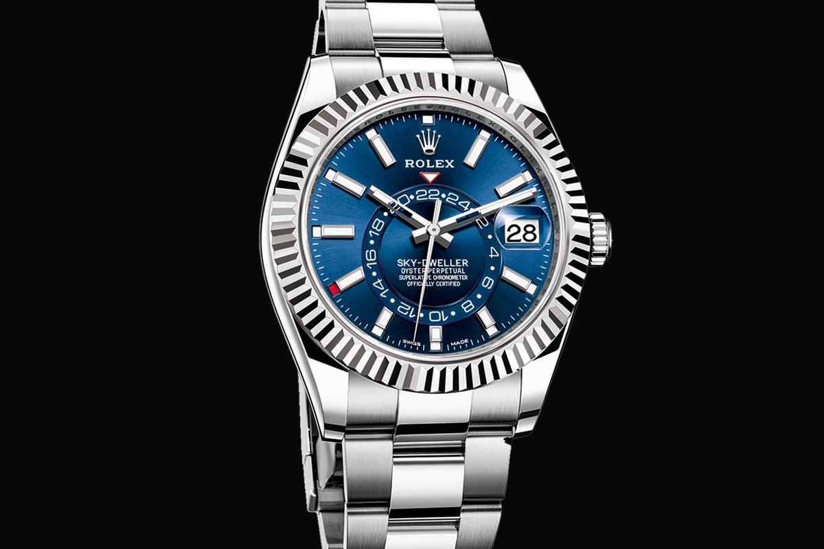 Rolex Oyster Perpetual Sky Dweller Time And Watches