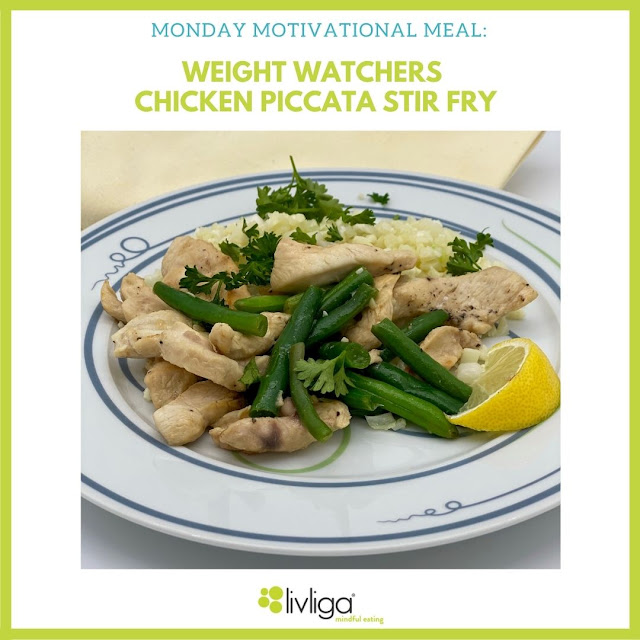 Weight Watchers Chicken Piccata Stir Fry Served Up on Livliga