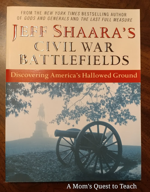 Jeff Shaara's Civil War Battlefields: Discovering America's Hallowed Ground book cover