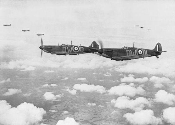 24 July 1940 worldwartwo.filminspector.com Spitfires Mk. !