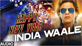 Lagu India Shah Rukh Khan Film Happy New Years