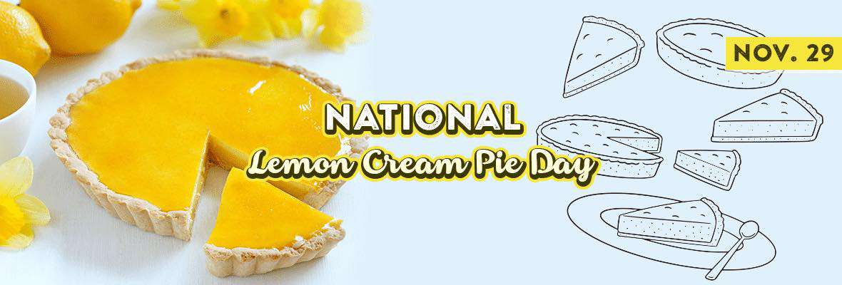 National Lemon Cream Pie Day Wishes Awesome Picture