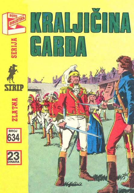 Kraljicina Garda - Komandant Mark