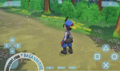 Game Harvest Moon Hero of Leaf Valley ISO CSO