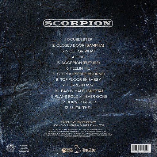 ALBUM: Drake - Scorpion Complete Album + Zip File Download