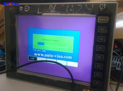 Sửa chữa, crack password màn hình HMI Hitech.