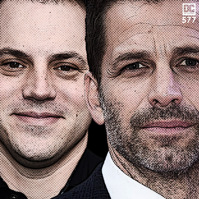 Geoff Johns and Zack Snyder