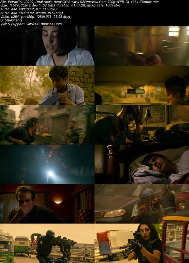 Download Extraction (2020) Hindi 480p