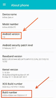 Ifinix Zero 4 Android 7 Nougat Update -sooloaded.net