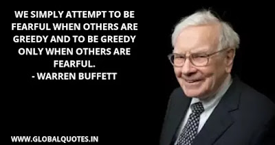 Warren Buffet Quotes