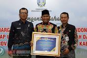 Pemkab Sumenep Kembali Raih Penghargaan WTP Dari Menkeu RI