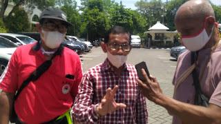Tuntut Konsesi ke PT. KAI Persero, Aksi APRTN Gelar Demo di DPRD Kota Surabaya