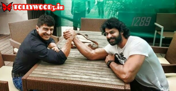 Prabhas gym workouts for Baahubali and his trainer