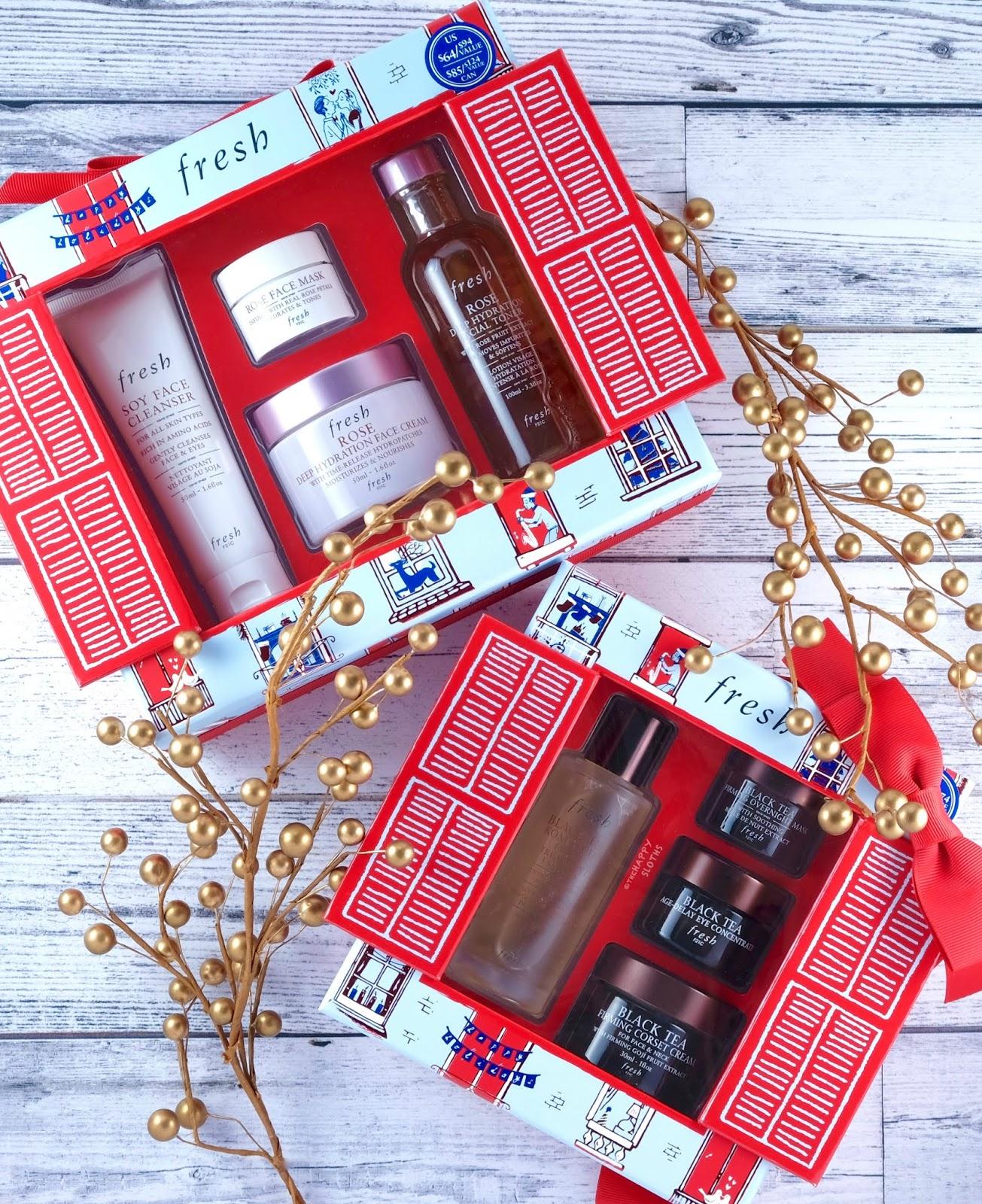 Fresh   Holiday 2019 Hydration Ever After Gift Set & Black Tea Shop Gift Set: Gift Guide + GIVEAWAY