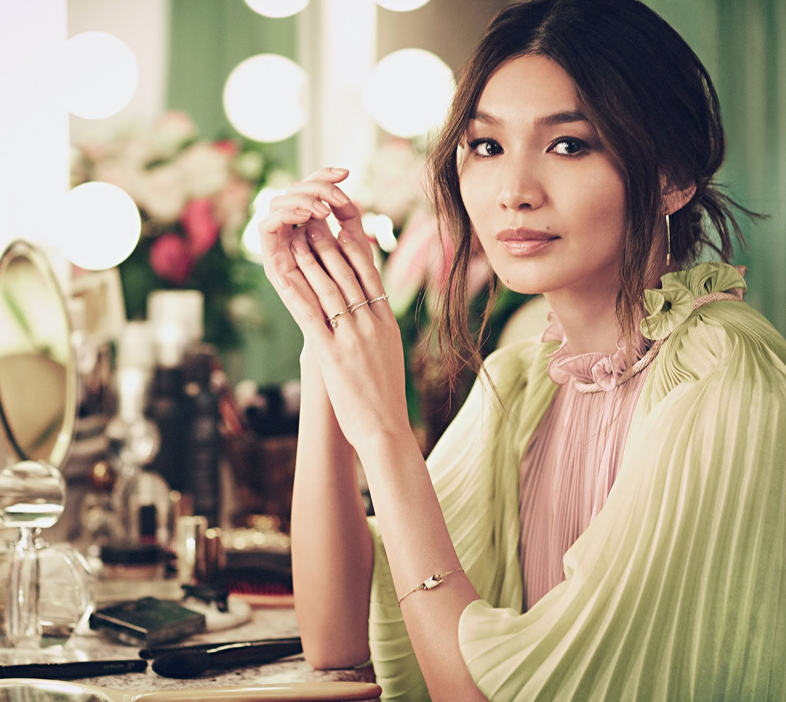 Gemma Chan - US InStyle March 2019